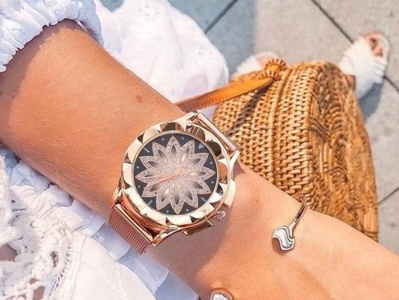 Relógio Feminino De Luxo Elegante Barato Promoção