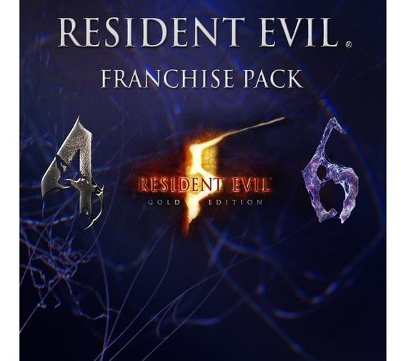 Resident Evil 4 5 6 Franchise Pack Ps3 Play3 Digital !!!