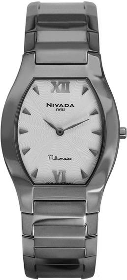 Reloj Nivada Swiss Millionaire Superslim Para Caballero