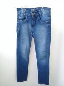 Calça Jeans Infatil Menino 10/12 Anos /semi Nova/azul