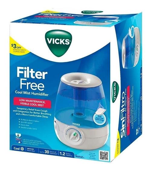 Humidificador Sin Filtro C/control De Temperatura Vicks
