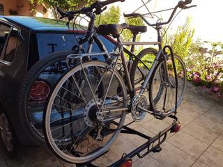 Transbike Plataforma Engate Reboque Para 2 Duas Bikes