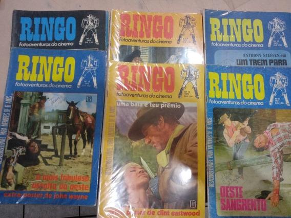 Ringo Fotoaventuras Do Cinema - Fotonovela - Vários Números