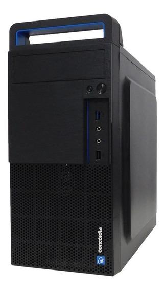 Computador Concórdia Core I7 9700 Memória 8gb Ddr4 Ssd 120gb
