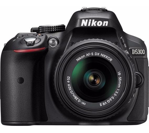 Câmera Nikon D5300 Kit 18-55mm - Garantia