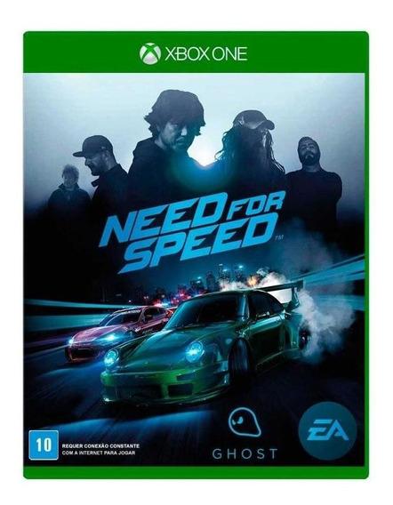 Need For Speed Xbox One Mídia Física Novo Lacrado