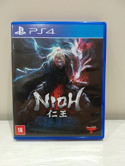 Nioh Playstation 4 Mídia Física