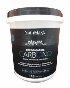 Máscara Reconstrutora Carbono Natumaxx 1kg + Brinde