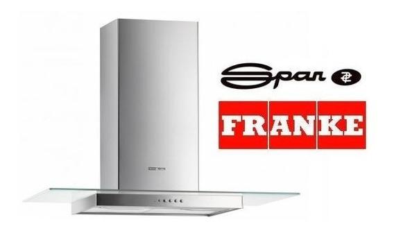 Campana Extractor Cocina Spar Franke Nice Vidrio Recto 60cm