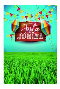Fundo Fotográfico Festa Junina Em Tecido 1,50x2,20m Fj06