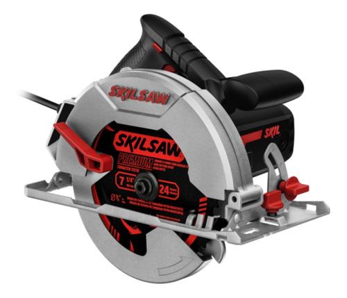 Sierra circular eléctrica Skil 5402 184mm 1400W 50Hz/60Hz  negra/roja 220V