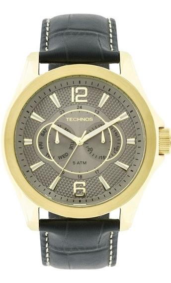 Relógio Technos Original Masculino Grandtech 6p25aw/2c Nfe