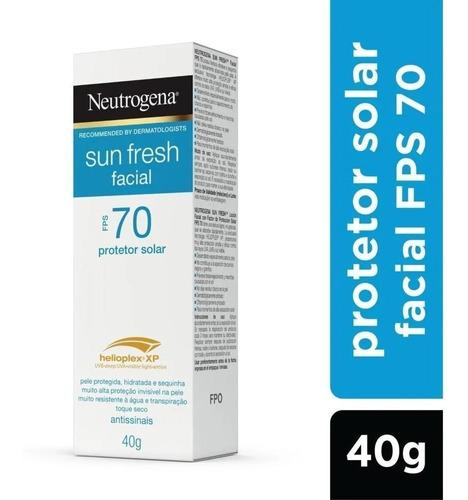 Protetor Facial Neutrogena Sun Fresh Fps70 40g