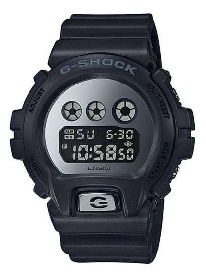 Relógio Casio G-shock Dw-6900mma-1 Digital Espelhado