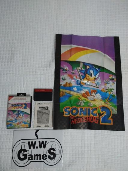 Master System - Sonic 2 - Completo - Serial Batendo