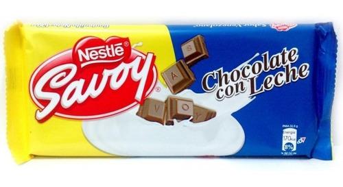 Imagen 1 de 1 de Chocolate Venezolano Importado Nestle® Savoy® 130g