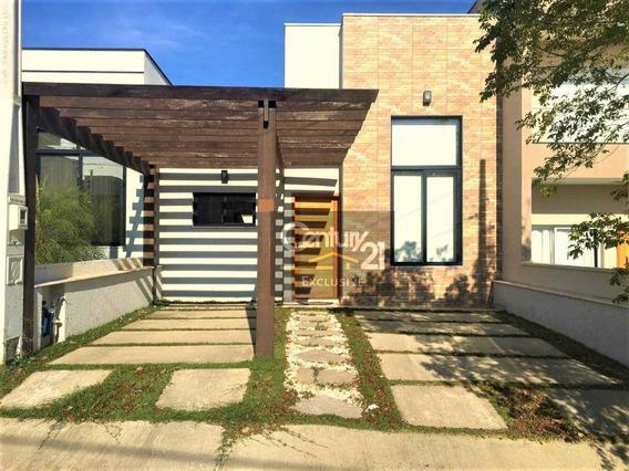 Casa Para Locação Por R$ 2.800/mês - Condomínio Montreal Residence - Indaiatuba/sp - Ca0506