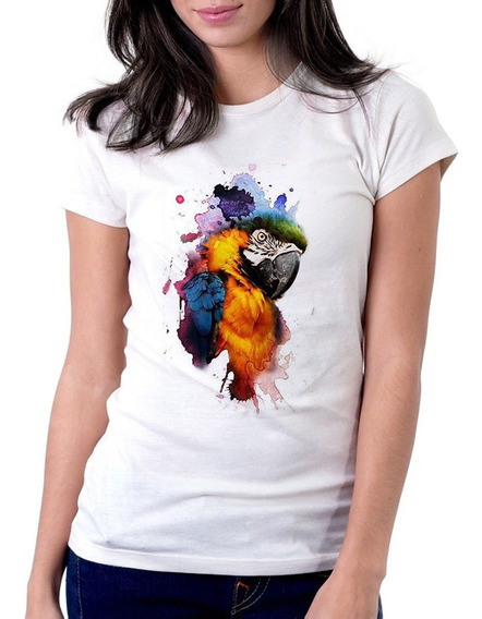 Blusinha Feminina Estampada Amazônia Sl2245