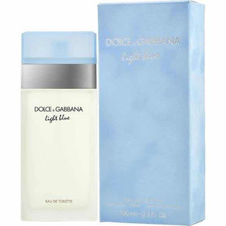 Perfume Light Blue Dama De Dolce & Gabbana 100ml Edt Nuevo
