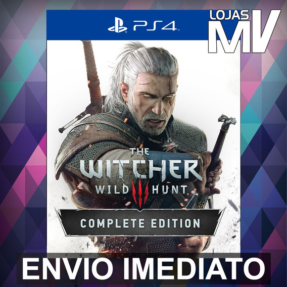 The Witcher 3 Wild Hunt Complete Edition Ps4 Código