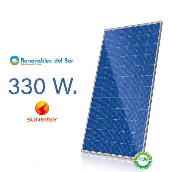 Panel Solar Sunergy 330w Policristalino 37v Sun 72p-35f 330
