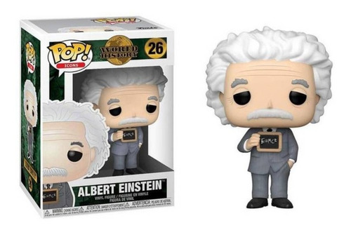 Funko Pop: World History - Albert Einstein (26)
