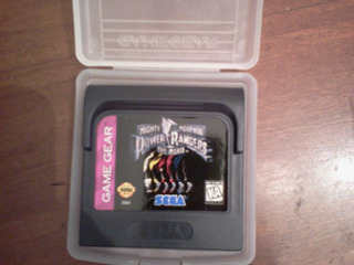 Power Rangers The Movie Juego Cartucho Game Gear