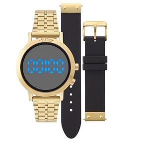 Relógio Euro Feminino Fashion Fit Eubj3407aa/t4p + Pulseira