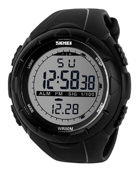 Relógio Masculino Digital Skmei Original Sshock 1025 Preto