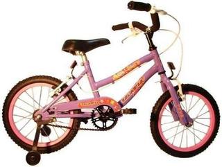Bicicleta Nena Playera Con Frenos Kelinbike Rodado 16
