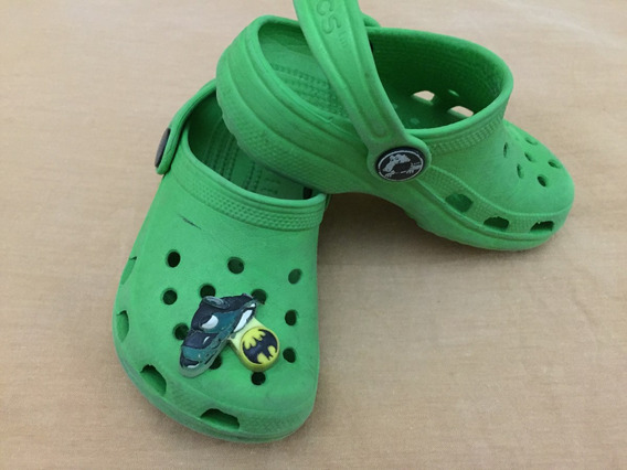 Crocs Verde Menino Infantil T-6/7 Original