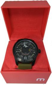 Relógio Masculino Mondaine Pulseira Verde 94975gpmvpu2
