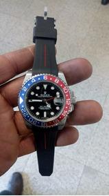 Relógio Gmt Pepsi 2 Anos Garantia C/frete 12x S/juros