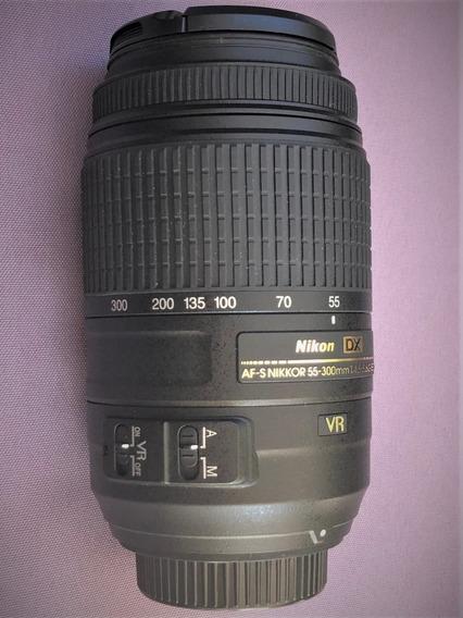 Lente Nikon Af-s Dx Nikkor 55-300mm