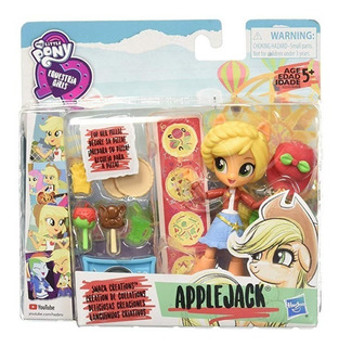 My Little Pony Equestria Girls Mlp Eg Minis Applejack Snack