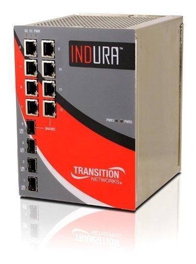 Switch Transition Networks Indura Ind-3284-h Ethernet Switc®