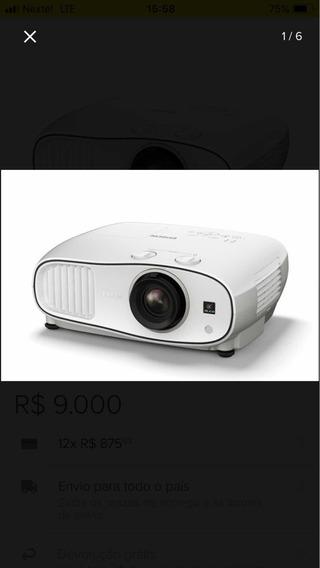 Projetor Epson 3700,full Hd,home Cinema 1080p, Novo,na Caixa