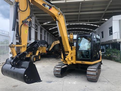 Excavadora Caterpillar 308e2cr Modelo 2017.