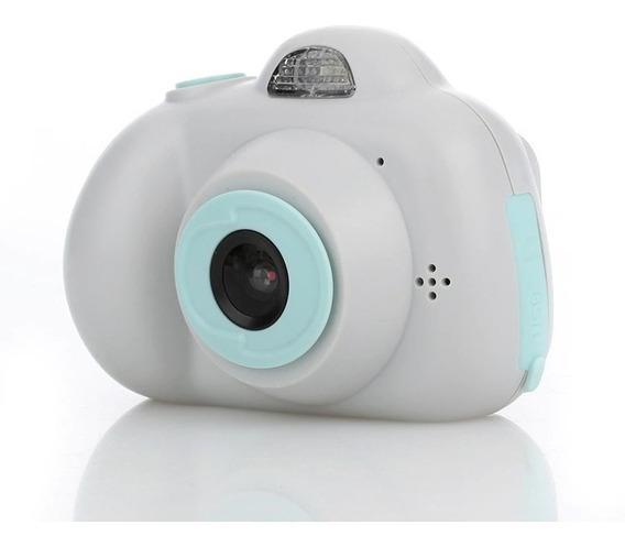 Câmera Digital Fotográfica Infantil Efeito Animação C/ Flash