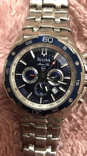 Relógio Masculino Bulova Marine Star Analógico Wb30686a