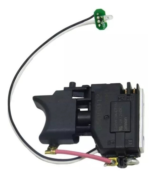 Gatilho Interruptor Para Parafusadeira Makita Td090d