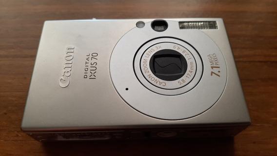 Camera Fotografica Digital Canon Ixus 70 7,1mpx