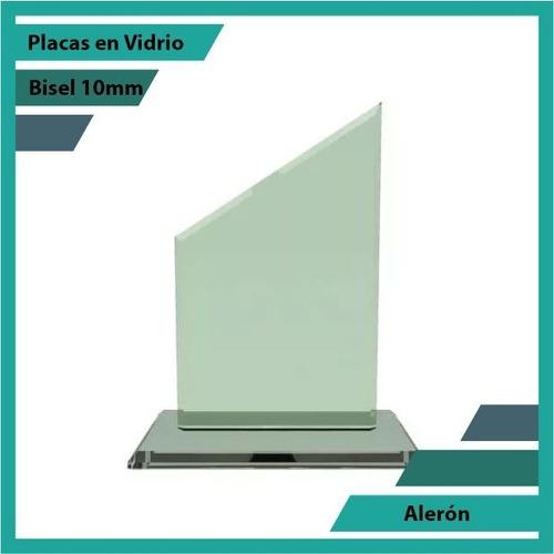 Placas En Vidrio Forma Aleron