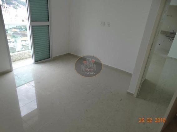 Apartamento Residencial Para Locação, Gonzaga, Santos. - Ap2967