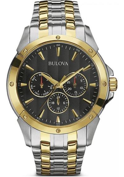 Relógio Bulova Classic Wb21632p / 98c120 Novo