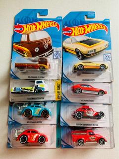 Hotwheels Fusca Kombi Sp2 Kool Raras Vw Á Ar (8unidades)