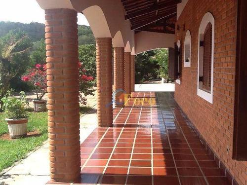 Chácara Com 3 Dormitórios À Venda, 5204 M² Por R$ 905.000,00 - Condomínio Itaembu - Itatiba/sp - Ch0064
