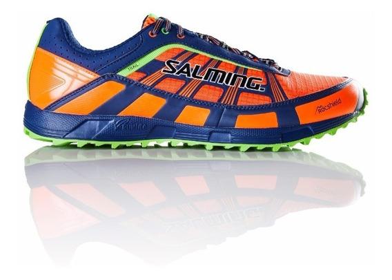 Zapatillas Hombre Salming Running Naranjas Trail T3