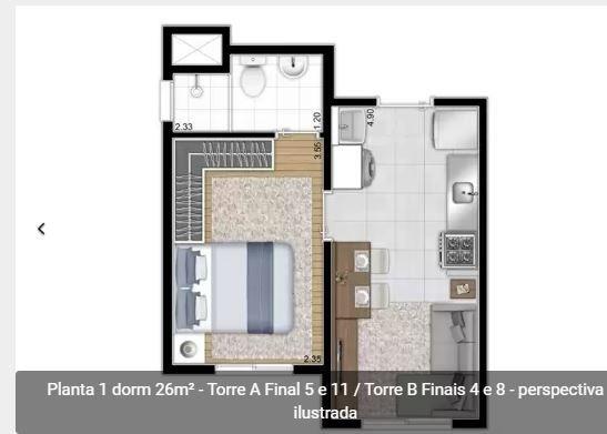 Casa Verde Sp Apartamento 1 Quarto 27 M2 R$179.900,00