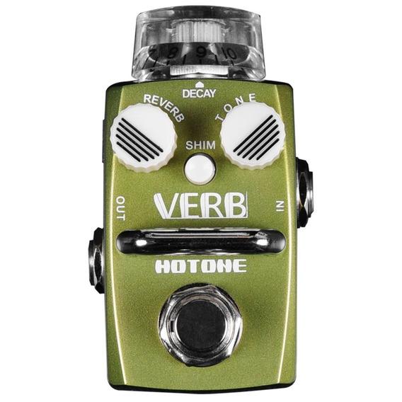 Pedal Reverb P/ Guitarra - Srv 1 Hotone